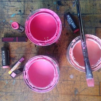 Lipstick Art to Benefit Endangered Species